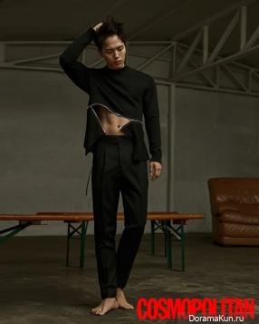 Yeo Jin Goo для Cosmopolitan June 2017