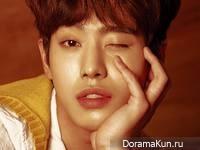 Ahn Hyo Seop для Dazed June 2017