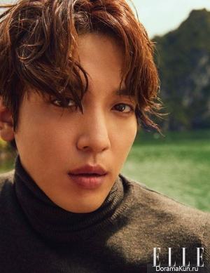 Jung Yong Hwa для ELLE October 2017