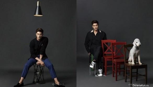 Sung Hoon для Life and Dogue 2017