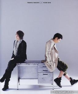 Yamashita Tomohisa и Yusuke Iseya (news) для KINEJUN 21.02.2011