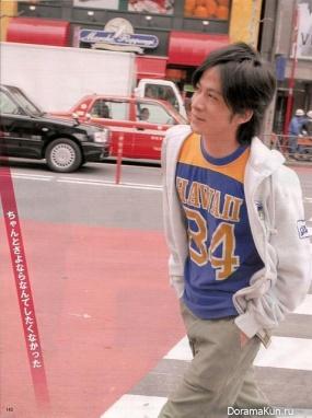 Junichi Okada для Myojo May 2007