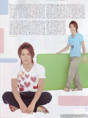 Tackey & Tsubasa для Wink up August 2006