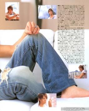 Tackey & Tsubasa для Duet August 2006