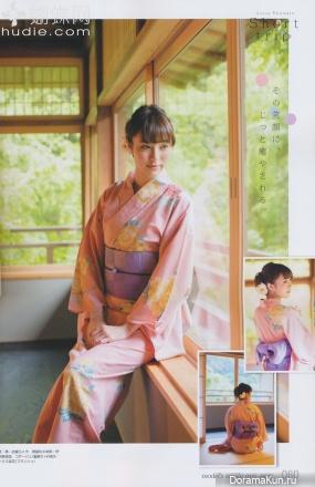 Azusa Okamoto для NON-NO September 2013
