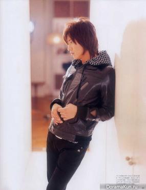 Takuya Kimura для AnAn December 2008