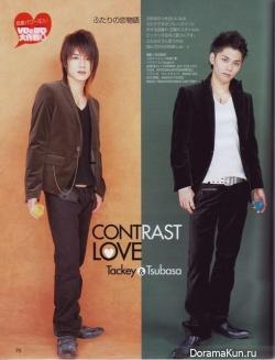 Tackey & Tsubasa для Duet March 2006