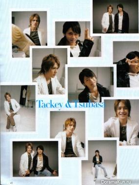 Tackey & Tsubasa для Duet May 2005