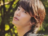 Sato Takeru для Junon August 2013
