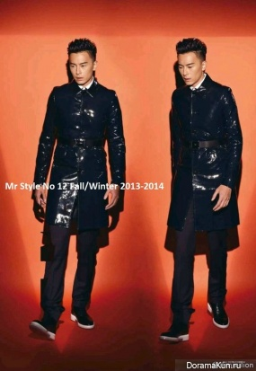 Joe Cheng для Mr Style No12 2013-2014