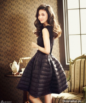 Tang Wei для InStyle December 2013
