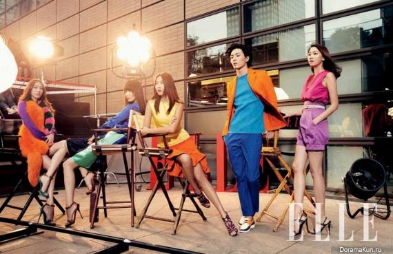 Kim Jae Wook для Elle June 2011
