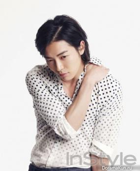 Kim Jae Wook для InStyle September 2010