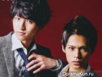 KAT-TUN для DUET August 2013