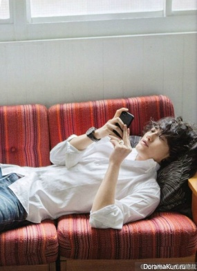 Jin Akanishi для Orisuta Desember 2013