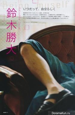 Katsuhiro Suzuki для QLAP! August 2013