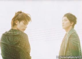 Oguri Shun и Miura Haruma для +act vol.13