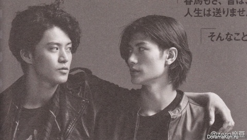 Oguri Shun и Miura Haruma для ViVi October 2013