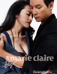 Daniel Wu и Yao Chen для Marie Claire December 2013