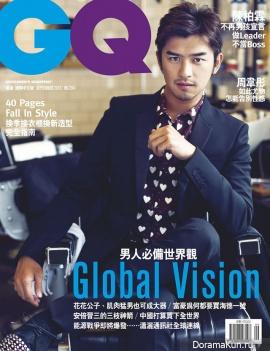 Bolin Chen для GQ September 2013