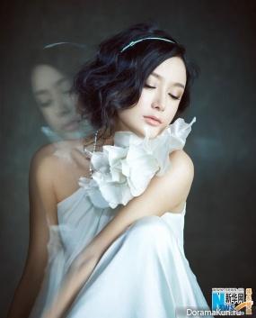 Qin Lan для U+ April 2013