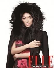 Zhang Ziyi для Elle October 2013
