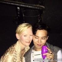 Tilda Swinton и G-Dragon