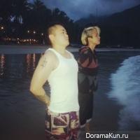Эмбер из f(X) проводит отпуск на острове Палаван на Филиппинах