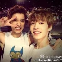 Чанёль из EXO-K и Генри из Super Junior-M сфотографировались вместе #SMTownПекин