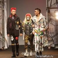 Зико и P.O. из Block B прошлись по подиуму