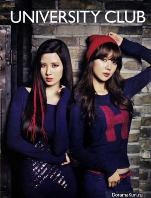 Суен и Сохен из Girls Generation для Cosmopolitan