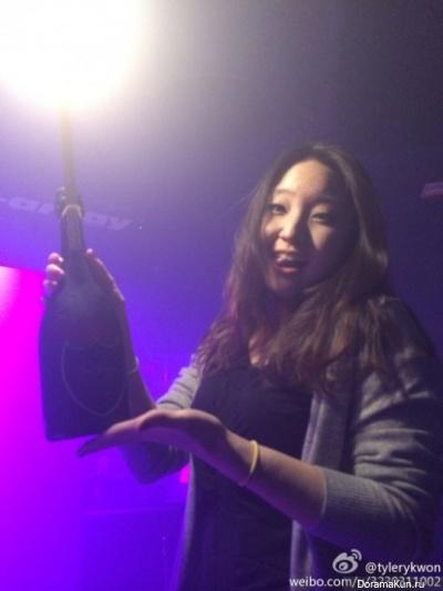 фотография девушки принявшую за Тэён