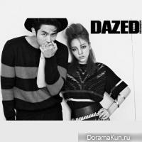 Сылон и Гу Хара для Dazed and Confused