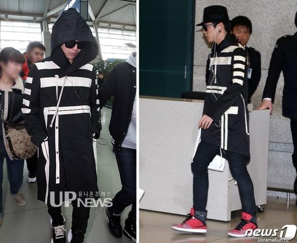 G-Dragon из Big Bang и Химчан из B.A.P