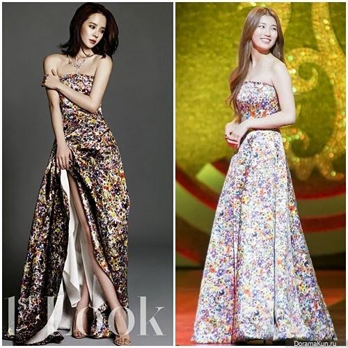 Cон Джи Хе и Сюзи из Miss A