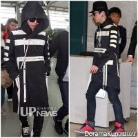 G-Dragon из Big Bang и Himchan из B.A.P