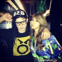 Skrillex и CL