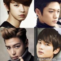 Toп 5 красивых участников групп