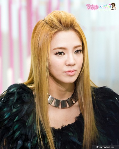 Хёён из Girls' Generation