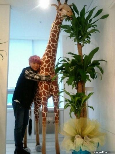 Рёук с жирафом