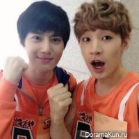 Сухо из EXO и Генри