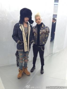 G-Dragon и Тэян