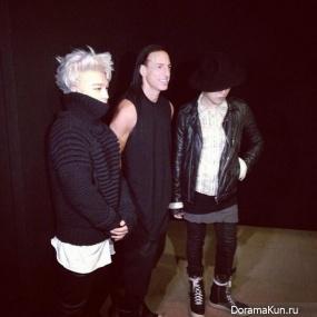 Тэян и G-Dragon