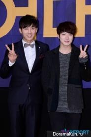 Сон Хо Чжун и Минхван из F.T.Island