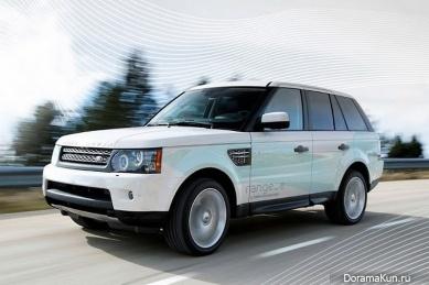 Машина Дары из 2NE1 ( Range Rover)