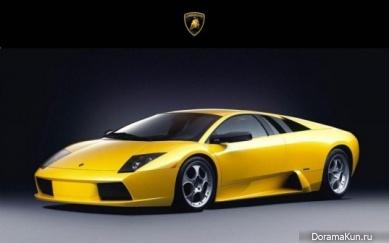 Машины ДжэДжуна из JYJ Lamborghini Murciélago
