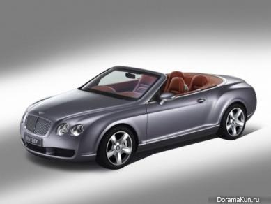 Машины ДжэДжуна из JYJ Bentley Continental GTC