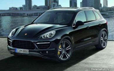 Машина Кахи (Porsche Cayenne Turbo):