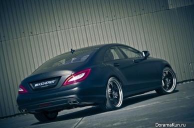Машина Тэяна из BigBang (Kicherer Mercedes-Benz CLS):