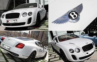 Машина G-Dragon из Big Bang (Bentley Mansory):